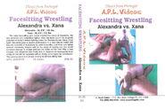 Facesitting Wrestling - Alexandra vs. Xana