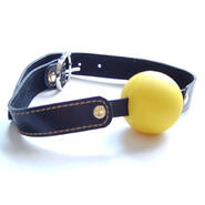 Laura Goodwin Gag with Yellow Ball Light