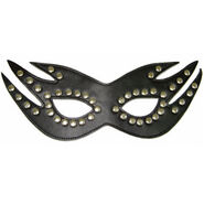 Risque Boutique Feline Mask with Studs Heavy