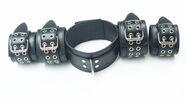 LiberatorBound Heavy Duty Collar with Ankle & Wrist Cuffs