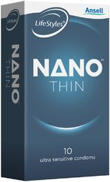 Ansell Lifestyles Nano Thins 10 Pack