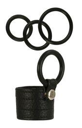 Adonis Zeus Leather Cock Ring