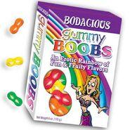 Bodacious Gummy Boobs