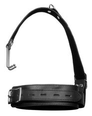 Thick Bondage Collar with Nose Hook