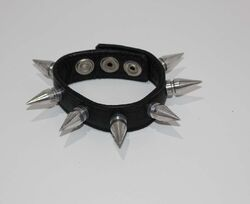 Spiked Leather Cockring