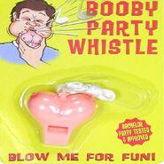 Boobie Party Whistle
