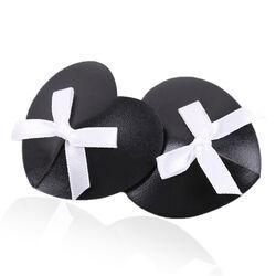 Black Heart White Box Nipple Pasties