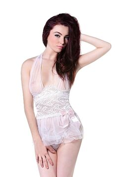 Babydoll with Ribbon & G-String