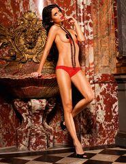Baci French Cut Heart Mesh Bikini
