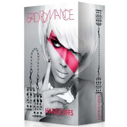 Bad Romance Translucent Handcuffs with Metal Nails