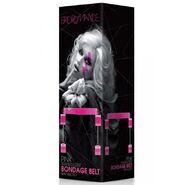Bad Romance Pink Translucent Bondage Belt with Velcro