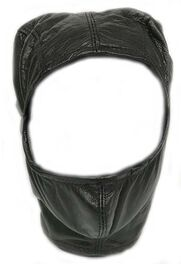 BDSM Open Face Mask Faux Leather