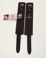 BDSM Clubs Leather Wrist & Ankle Cuffs
