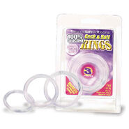 Cock & Ball Rings 3 Sizes