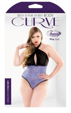 Curve Lolita Micro And Lace Teddy