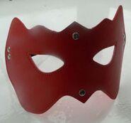 CatWoman PVC Eye Mask Red Heavy