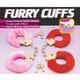 Die Cast Metal Furry Love Cuffs