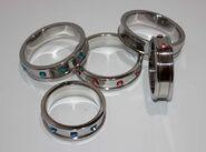 Deep Shallow Cock Ring 55mm Aquamarine