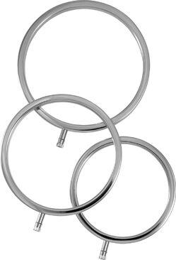 ElectraStim ElectraRings Metal Scrotal Rings