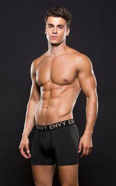Envy Micro LowRise Logo Elastic Boxer S/M Black