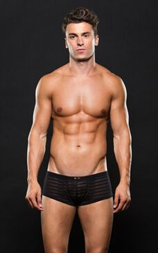 Envy Microfiber Trunk M/L Stripe Black