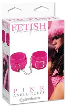 Fetish Fantasy Series Pink Ankle Cuffs