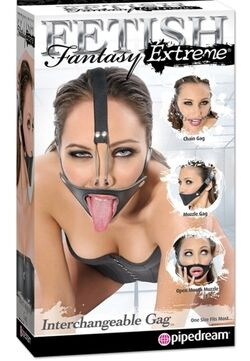 Fetish Fantasy Extreme Interchangeable Gag