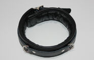 Fetters Thick and Padded Bondage Collar Heavy PVC