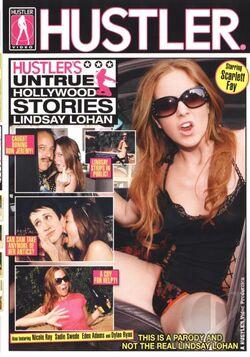 Hustler\'s Untrue Hollywood Stories Lindsay Lohan