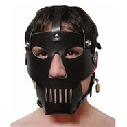 Hannibal Prison Hood PVC with Punisher Muzzle
