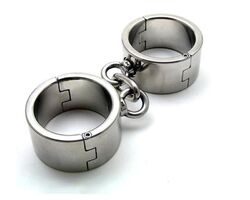 Hardcore Metal Bondage Cuffs