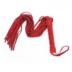 Hells Couture Bondage Flogger Suede