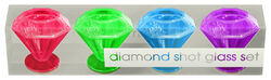 Ladies Night Diamond Shot Glass Set