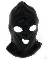 Leather Executioner Bondage Hood