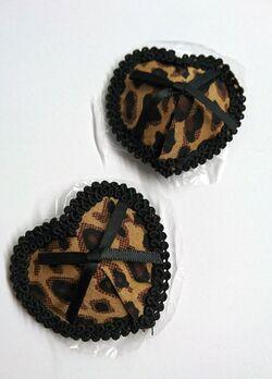Leopard Print Nipple Pasties
