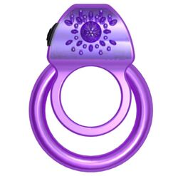 MyLovey Clark Duo Vibrating Cock Ring