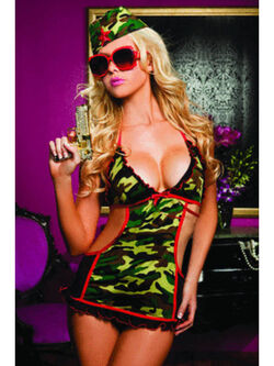 Major Mayhem Camo Print & Apron