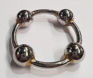 Men's Steel Glans Ring