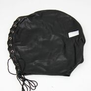 Open Eyed BDSM Hood Faux Leather