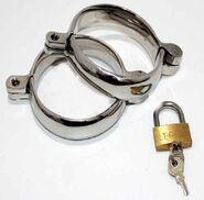 Original Sinner Steel Lust Cuffs