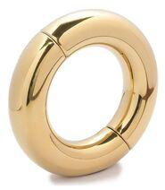 Oval Ball Metal Stretcher Gold
