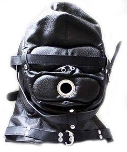 ObeySir Sensory Deprivation Hood Leather
