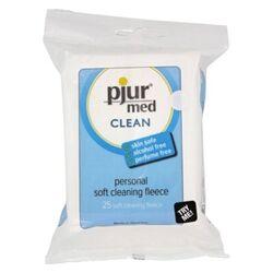 Pjur Med Clean Fleece Pack of 25