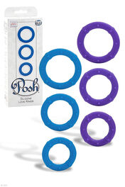 Posh Silicone Love Rings