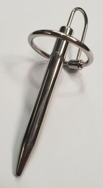 Prince Albert Penis Wand With Glans Ring