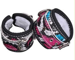 Patterned Wrist or Ankle Cuffs