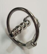 Round Tip Ribbed Penis Plug & Glans Ring