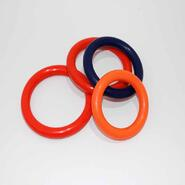 Rubber Cock & Ball Ring 65mm Diameter Thin Band