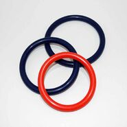 Rubber Cock & Ball Ring 65mm Diameter Thick Band