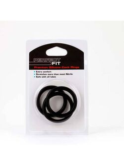 Perfect Fit Silicone 3 Ring Kit